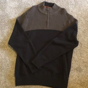 Mens 1/4 zip Dockers sweater